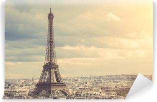 Fototapet av Vinyl Tour Eiffel i Paris