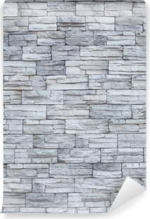 43af217de Lerretsbilde Tynn stein mur • Pixers® - Vi lever for forandring