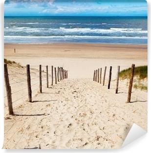 Vej til stranden Vinyl fototapet