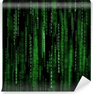 Fototapeta winylowa 3D Matrix Background