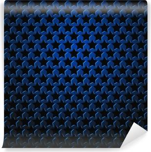 Fototapeta winylowa Abstrakcyjne tło wich gwiazda perforacja - ilustracji wektorowych