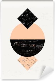 Vinylová fototapeta Abstraktní geometrické kompozice
