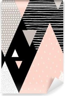 Vinylová fototapeta Abstraktní geometrické krajiny