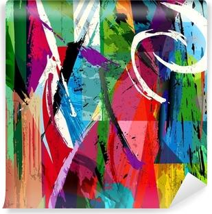 Vinylová Fototapeta Abstraktní pozadí složení, s barvou tahy, postříkání