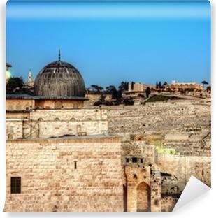 Vinylová Fototapeta Al Aqsa, mešita v Jeruzalémě, Izrael