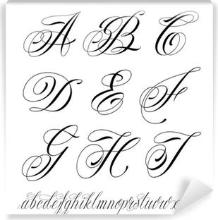 Dla Firm Alfabet Piękno Liter W Twoim Wnętrzu Pixers