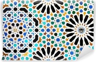 Vinylová Fototapeta Alicatados, mozaiky, dlaždice, Alhambra v Granadě