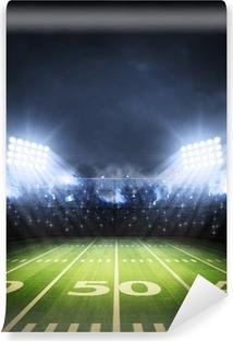 Vinylová Fototapeta Americký fotbalový stadion