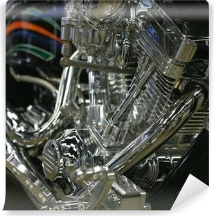 Vinylová Fototapeta Americký motocyklový motor
