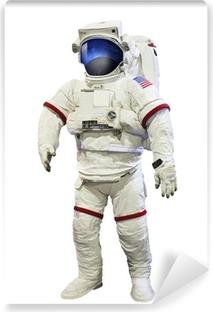 Vinylová fototapeta Astronaut NASA tlak oblek s GALAXI prostor úvahám o mas