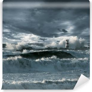 Vinylová Fototapeta Atlantic bouře
