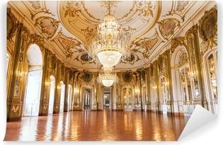 Vinylová Fototapeta Ballroom v Queluz Národní palác, Portugalsko
