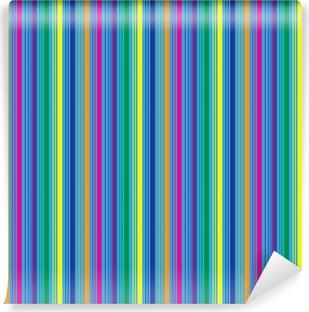 Vinylová Fototapeta Barevné Vibrant Stripes pozadí