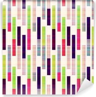 Vinylová Fototapeta Bezešvé abstraktní geometrické pruhované vzor