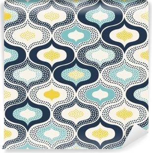 Vinylová Fototapeta Bezešvé abstraktní ornament tečky doodle pattern__