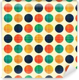 Vinylová Fototapeta Bezešvé abstraktní vzor polka dots