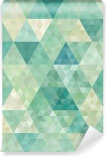 Fototapeta winylowa Bezszwowe tło z abstrakcyjnym ornamentem geometrycznym