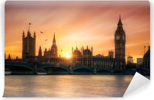 Fototapeta winylowa Big Ben Londyn Anglia