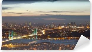 Vinylová Fototapeta Bosphorus Bridge v noci 8