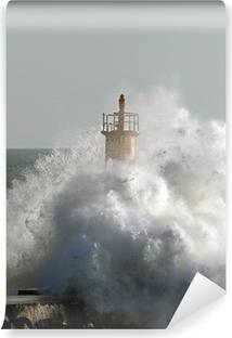 Vinylová Fototapeta Bouřlivé vlny
