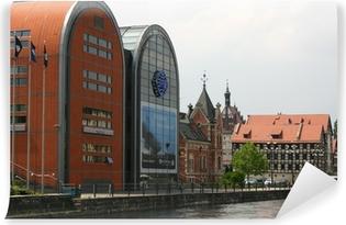Fototapeta winylowa Bydgoszcz - city center
