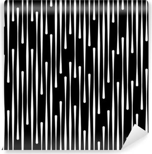 Vinylová Fototapeta Černá a bílá abstraktní geometrické bezproblémové vzor vektor zázemí