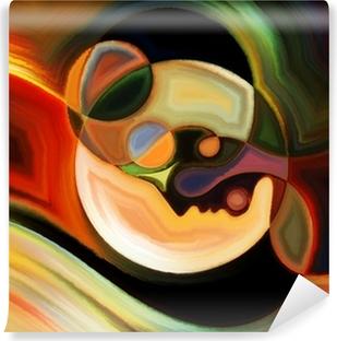 Vinylová Fototapeta Cesty vnitřní Paint