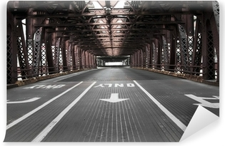 Vinylová Fototapeta Chicago most