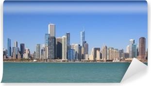 Vinylová Fototapeta Chicago velkoměsto panoráma panoramatický