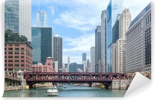 Vinylová fototapeta Chicago Výletní plavby