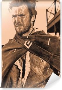 Vinylová Fototapeta Clint Eastwood