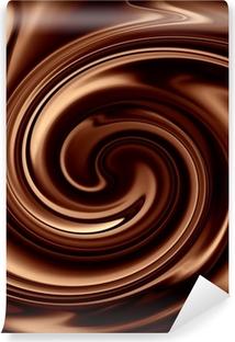 Vinylová Fototapeta Čokoláda na pozadí