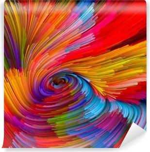 Vinylová Fototapeta Color Vortex Background
