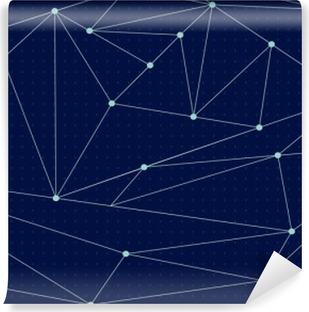 Vinylová Fototapeta Cosmic lomená čára pozadí. vektorové ilustrace