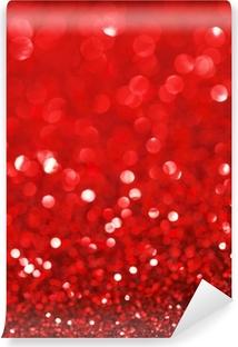 Fototapeta winylowa Czerwone tło brokat