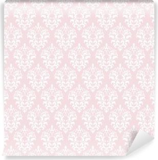 Vinylová Fototapeta Damask bezproblémové pozadí v pastelově růžová.
