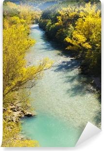Fototapeta winylowa Dolina rzeki Verdon jesienią, Prowansja, Francja
