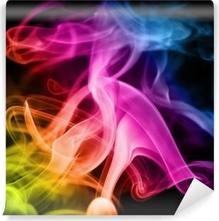 Vinylová Fototapeta Duha kouře