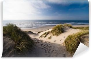 Vinylová Fototapeta Duny a oceán