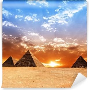 Vinylová Fototapeta Egypt pyramidy