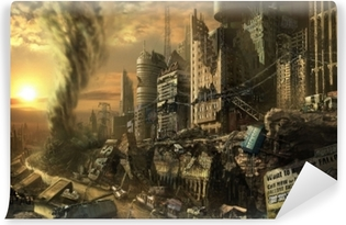 Fototapeta winylowa Fallout