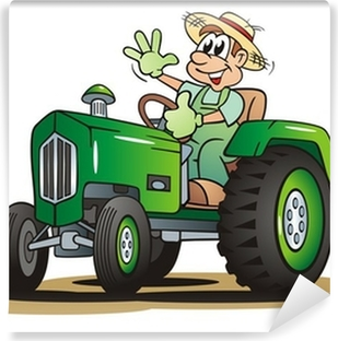 Fototapety Kresleny Traktor Pixers Zijeme Pro Zmenu