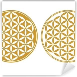 Fototapeta winylowa Flower of Life - symbol ochrony, święta geometria