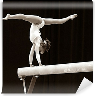 Fototapeta winylowa Gimnastyczka - 2