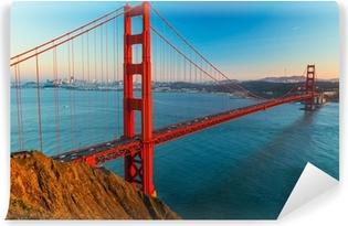 Vinylová Fototapeta Golden Gate, San Francisco, Kalifornie, USA.