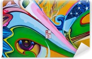 Vinylová Fototapeta Graffiti