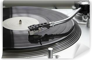 Fototapeta winylowa Gramofony dla profesjonalistów z rekordem