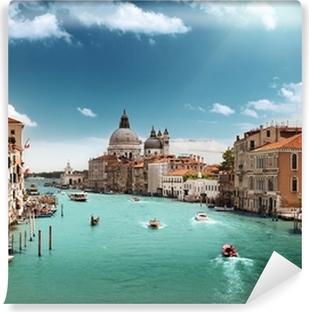 Vinylová Fototapeta Grand Canal a Santa Maria della Salute bazilika, Benátky, Itálie