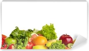 Fototapeta winylowa Graniczy z owoców i warzyw