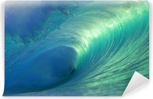 Vinylová Fototapeta Hawaii Pipeline Wave Empty 4